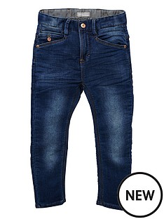 name-it-slim-leg-jersey-denim-pants
