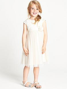 ladybird-girls-ivory-lurex-crochet-tulle-dress