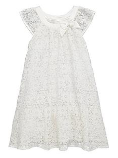 ladybird-toddler-girls-lace-occasion-dress-with-3d-bow