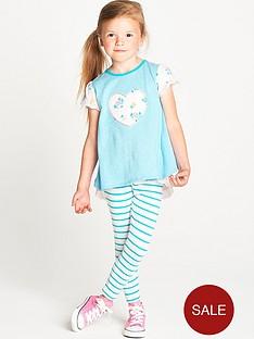 ladybird-toddler-girls-jersey-floral-bow-set-with-leggings