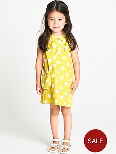 ladybird-toddler-girls-yellow-spot-collar-shift-dress-and-bag