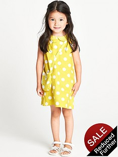ladybird-toddler-girls-yellow-spot-collar-shift-dress-and-bag