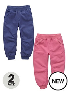 ladybird-toddler-girls-frill-trim-rib-waist-pull-on-bottoms-2-pack