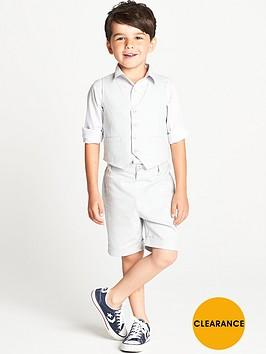 ladybird-boys-shirt-shorts-and-waistcoat-set-3-piece