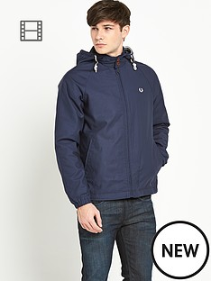 fred-perry-mens-lightweight-hooded-jacket