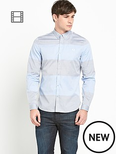 fred-perry-mens-oxford-block-stripe-shirt
