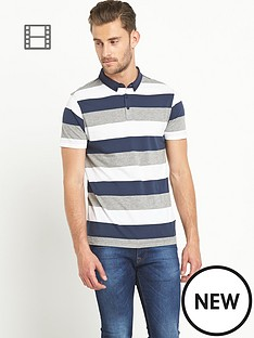 goodsouls-mens-navy-stripe-short-sleeve-jersey-polo-top