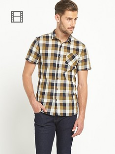 goodsouls-mens-short-sleeve-check-shirt-multi