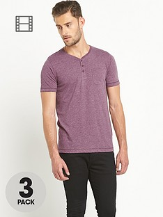 goodsouls-mens-grandad-t-shirts-3-pack-burgundykhakicharcoal