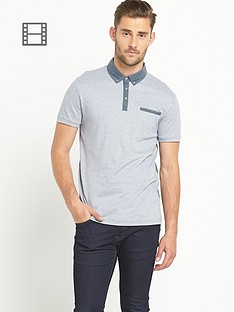 goodsouls-mens-zig-zag-textured-short-sleeved-polo-top