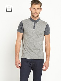 goodsouls-mens-short-sleeved-contrast-polo-top