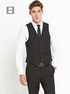 taylor-reece-mens-skinny-fit-black-pv-waistcoat