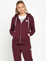 Full Zip Hooded Top