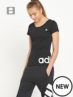 adidas-essential-linear-t-shirt