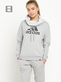adidas-cowl-neck-hooded-top