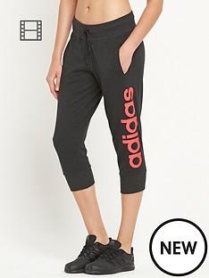 adidas-linear-logo-three-quarter-pants