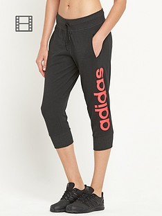 adidas-linear-logo-three-quarter-pants