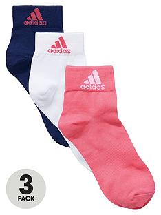 adidas-ladies-ankle-socks-3-pack