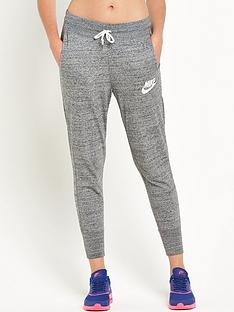 Creative Nike Sportswear Gym Vintage Training Pants Women  Anthracite White
