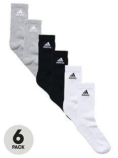 adidas-mens-half-cushion-crew-socks-6-pack