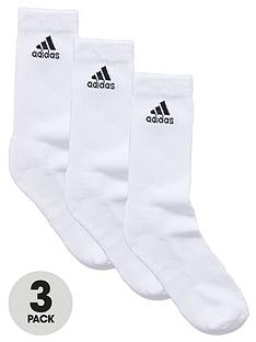 adidas-half-cushion-crew-socks-3-pack