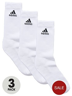 adidas-half-cushion-crew-socks-3-pack