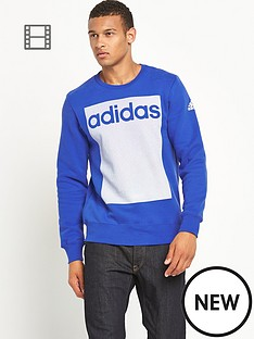 adidas-mens-linear-3s-crew-neck-sweat