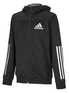 adidas-young-boys-clima-woven-full-zip-hoody