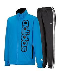 adidas-young-boys-linear-logo-tracksuit