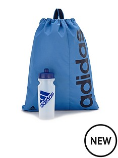 adidas-gym-bag-and-water-bottle