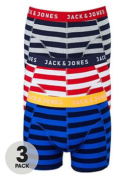 jack-jones-mens-stripe-trunks-3-pack