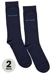 ted-baker-mens-plain-socks-2-pack