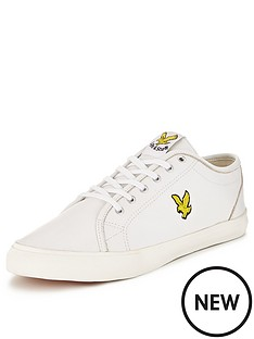 lyle-scott-teviot-leather-plimsolls