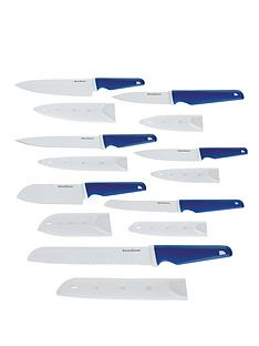 silverstone-ceramic-7-piece-knife-set--blue