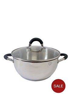 ready-steady-cook-bistro-24-cm-casserole-with-glass-lid