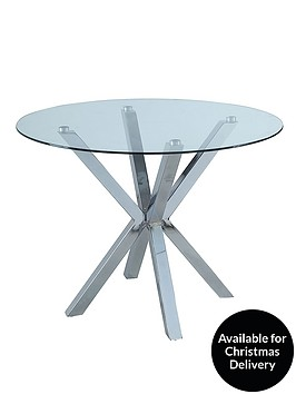 chopstick-glass-and-chrome-round-dining-table-clear