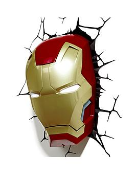 Iron Man Marvel 3D Iron Man Light