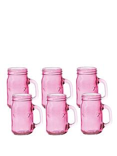 kilner-set-of-6-pink-glass-handled-jars