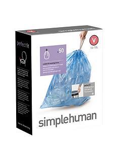 simplehuman-bin-liners-v-16-18-litre-50-pack