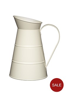 living-nostalgia-antique-23-litre-water-jug-cream