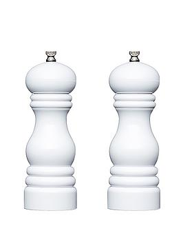 master-class-17cm-capstan-mills-set-of-2-white