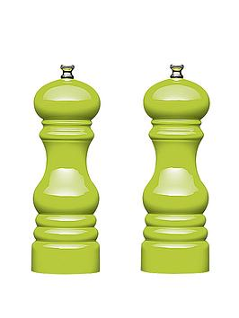master-class-17cm-capstan-mills-set-of-2-green