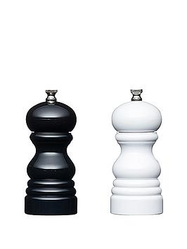 master-class-12cm-capstan-mills-set-of-2-blackwhite