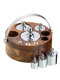 natural-elements-10-piece-metric-weight-set-with-wood-stand