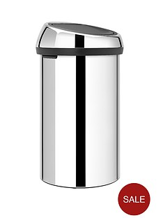 brabantia-60-litre-touch-bin-brilliant-steel