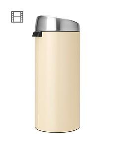 brabantia-30-litre-touch-bin-almond
