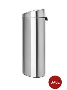 brabantia-d-shape-touch-bin-40-litre-matt-steel