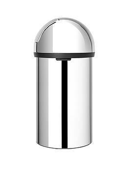 brabantia-push-bin-60-litre-brilliant-steel