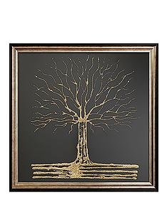 1wall-glitter-tree-framed-art