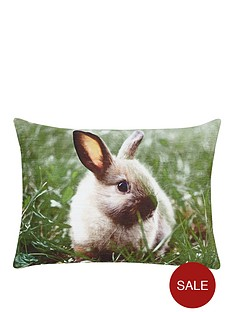 bunny-velvet-cushion